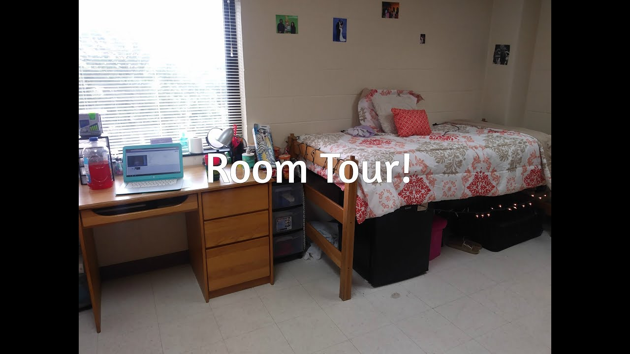 Perfect My College Room Tour!! I Norfolk State Part 13