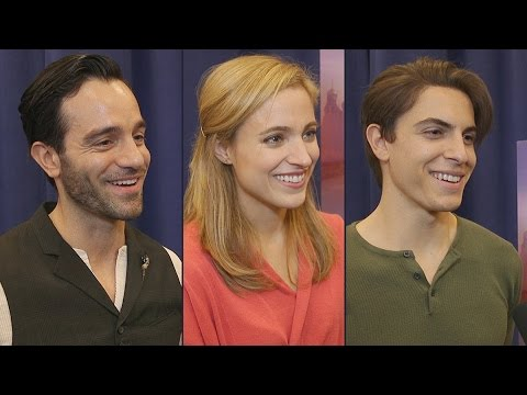 Anastasia's Journey Comes to Broadway With Christy Altomare, Ramin Karimloo, and More