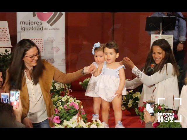VÍDEO: Estuvimos en el desfile de moda infantil de D'Bebes organizado por Mujeres en Igualdad