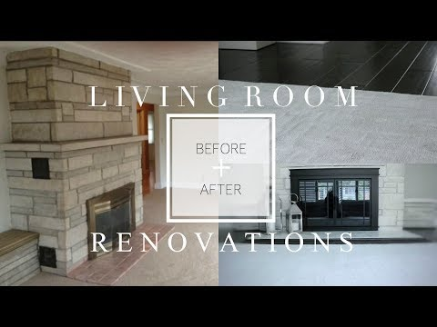 Living Room RENOVATIONS REVEAL | BuildDirect