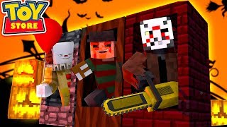 Minecraft Toy Store -  THE EVIL HALLOWEEN TOYS ARRIVE!