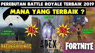 Perbandingan Apex Legends vs PUBG vs Fortnite - Mana Yang Terbaik?