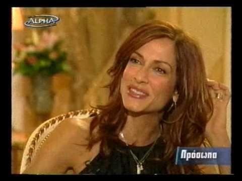 Anna Vissi Interview @ Prosopa 4/12/03 PART 1/6