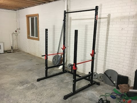 TDS Power, Squat & Open Rack Station, with solid steel Safety bars - Amazon Review