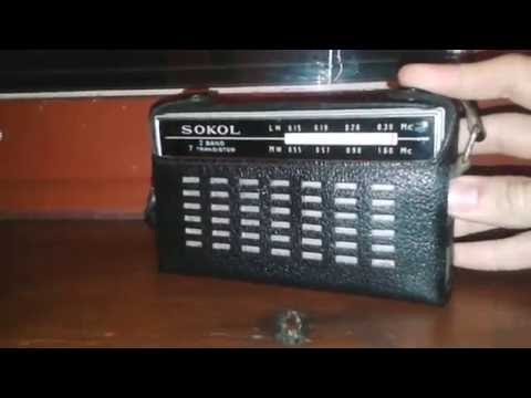 MW LW BANDSCAN Reception- Radio Sokol/сокол CCCP USSR 1963