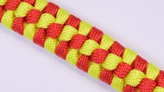 "How to Make a Paracord Survival Bracelet - The ""Checkmate"" Design - BoredParacord"