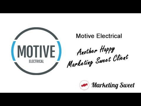 Motive Electrical - Marketing Sweet Client Testimonial