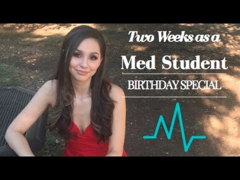VLOG: TWO WEEKS AS A MEDICAL STUDENT (birthday special!)