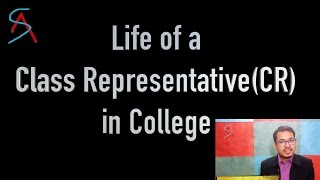Pros & Cons of being a Class Rep. (CR) in college