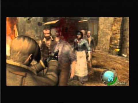 Resident Evil 4 Ps2 Gameplay Youtube