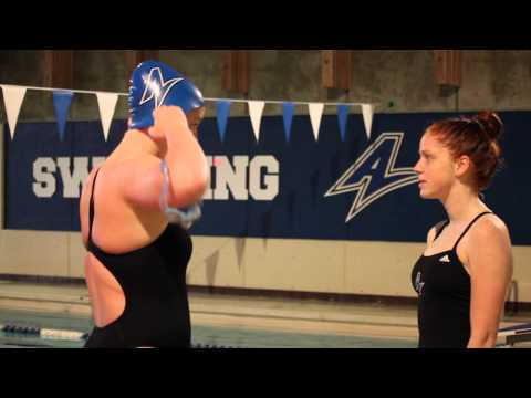 UNC Asheville Builds Women's Swimming Program - College Recruiting Video