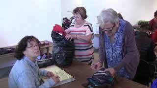 La bourse aux vêtements d'hiver à Avallon (89).