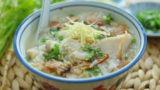 Teochew Fish porridge - 潮州鱼粥
