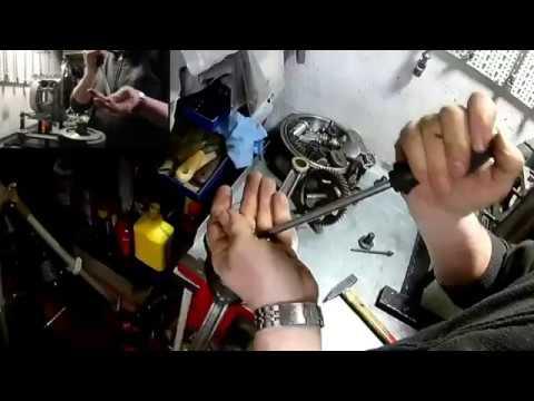 ural dnper m72 k750 assemblaggio motore engine 1° parte