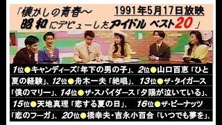 司 会(以下 敬称略)○ 渡辺正行・清水ミチコ 他、 ○ アイドル ○ キャン...