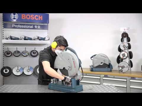 Видео обзор: Отрезная машина по металлу BOSCH GCO 14-24 J