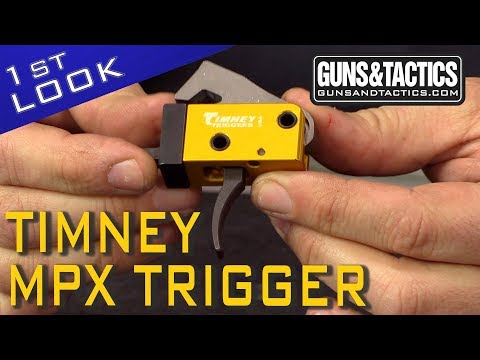 First Look at the new Timney Triggers MPX Trigger!