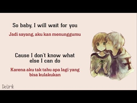 Wait For You - Elliott Yamin [Nick Cover] - Lyrics Video Dan Terjemahan