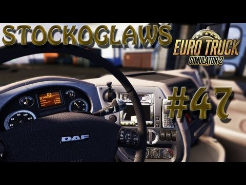 Lets Play Euro Truck Simulator 2 - Ep 47(Off to Southampton  ! )