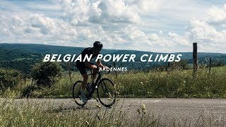 THE STEEPEST BELGIAN CLIMBS WE COULD FIND