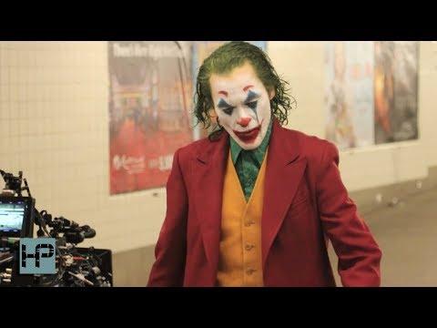 Woody and Wilcox - Joaquin Phoenix In Full Joker Make Up