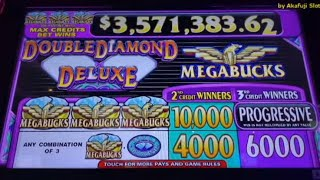 MEGABUCKS - Double Diamond Deluxe - Max Bet $3 - San Manuel Casino