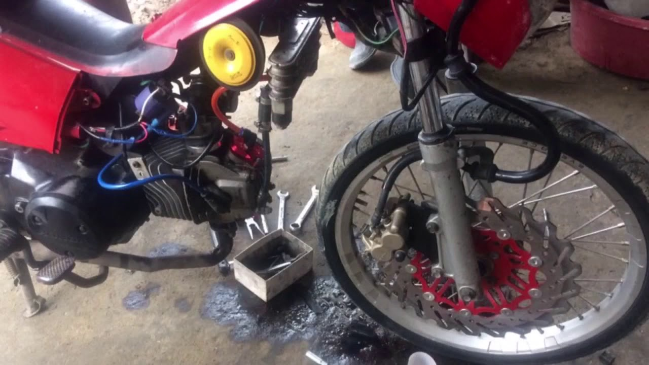 Xrm 125 oil cooler wave rs xrm fully working