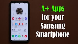 5 Must-Have Apps for your Samsung Galaxy (S20, Note 10, S10, S9, Note 9, etc) - FREE