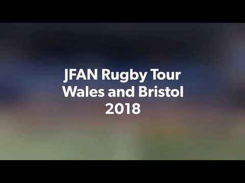 Joyce Frankland rugby tour to Cardiff