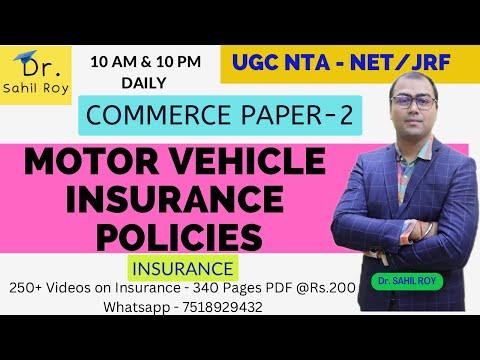 Motor Insurance Policies