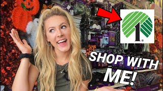 SHOP WITH ME AT DOLLAR TREE! FALL DECORATIONS & MORE!