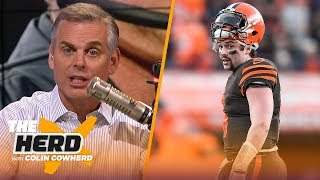 'I was wrong' about Raiders, Colin says Browns completely lack self-awareness | NFL | THE HERD