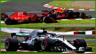 Ферстаппен убивает соперников, причина неудач Феттеля (Гран-При Японии 2018 Формула-1)