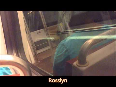 Washington DC Metro | Orange Line FULL JOURNEY: New Carrollton to Vienna
