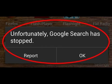 how to fix unfortunately google search has stopped-unfortunately google app has stopped