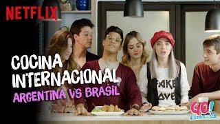 Go! Vive a tu manera - Cocina Internacional AR vs BR