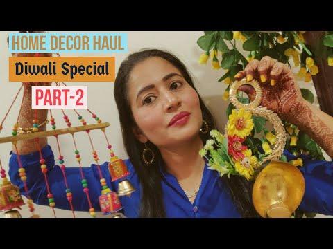 DIWALI SPECIAL HOME DECOR HAUL || PART-2 || HOME ENTRANCE ITEM || PADAM SHREE LIFESTYLE ||