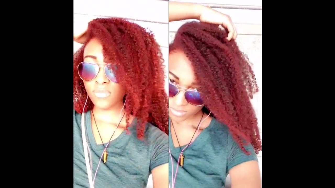 Review Jerome Russell B Wild Temporary Hair Color Cougar Red On