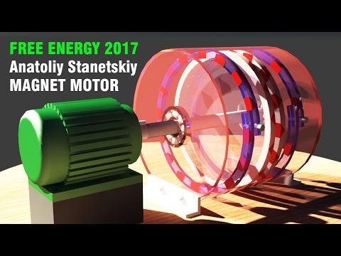 Free Energy Generator 2017, ANATOLIY STANETSKIY Magnetic Motor