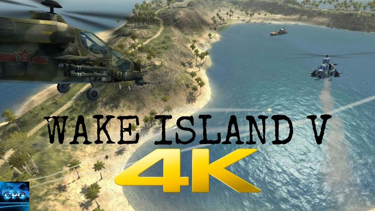 Battlefield 2 | Classic Games In 4K | 2019 Gameplay | Wake Island V