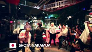 TGI Fridays Asia and Pacific Bar Champs 2014