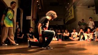 "WIN : TWINS DADDY a.k.a KATSUMI(PYRO) Street dance Battle ""DANCE@LI..."