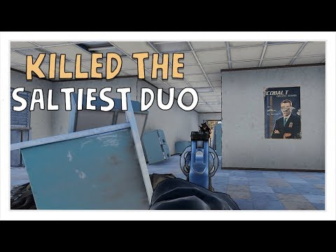 KILLING THE SALTIEST DUO EVER! | Rust Vanilla Solo/Duo Survival Gameplay S1E2 thumbnail