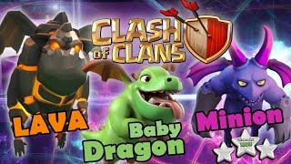 252.Clash of clans 2017 | Legend attack -Hot Strategy Babydragon Bowler Lavaloon 3 star attack th11.