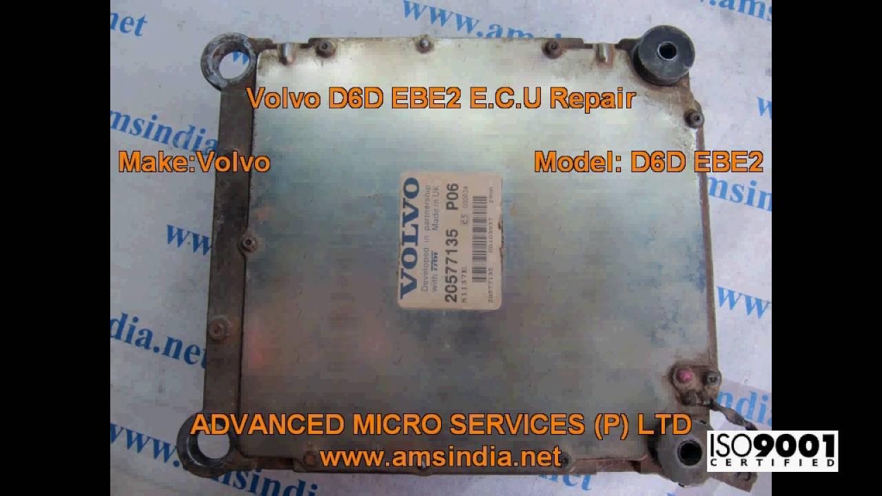 volvo d6d ebe2 e c u repairs advanced micro services pvt ltd rh youtube com Volvo Repair Manual Volvo Repair Manual