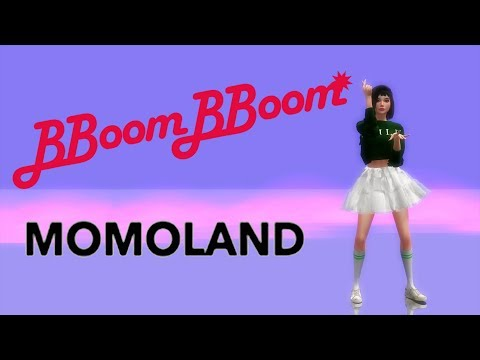 The Sims 4 MOMOLAND BBoom BBoom 모모랜드 뿜뿜 Animated Dance Machinima