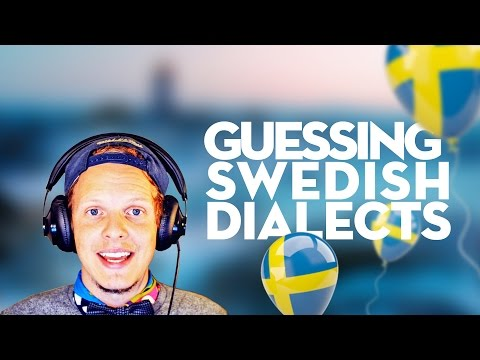 Guessing Swedish Dialects