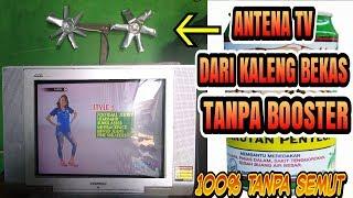 Cara Membuat antena dari kaleng bekas jernih 100%