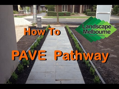 How to Pave Pathway Melbourne - Paving Quotes Melbourne
