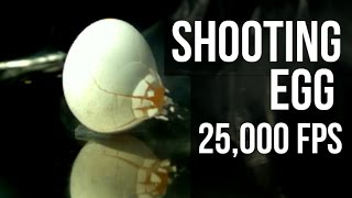 Shooting Eggs At 25,000 fps - Slow Mo Lab